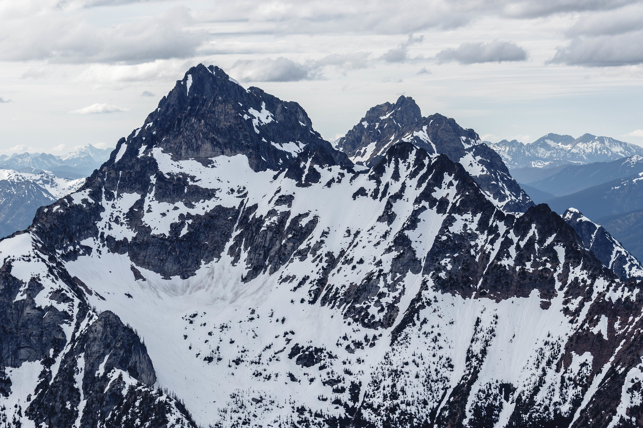 Azurite Peak and Mount Ballard