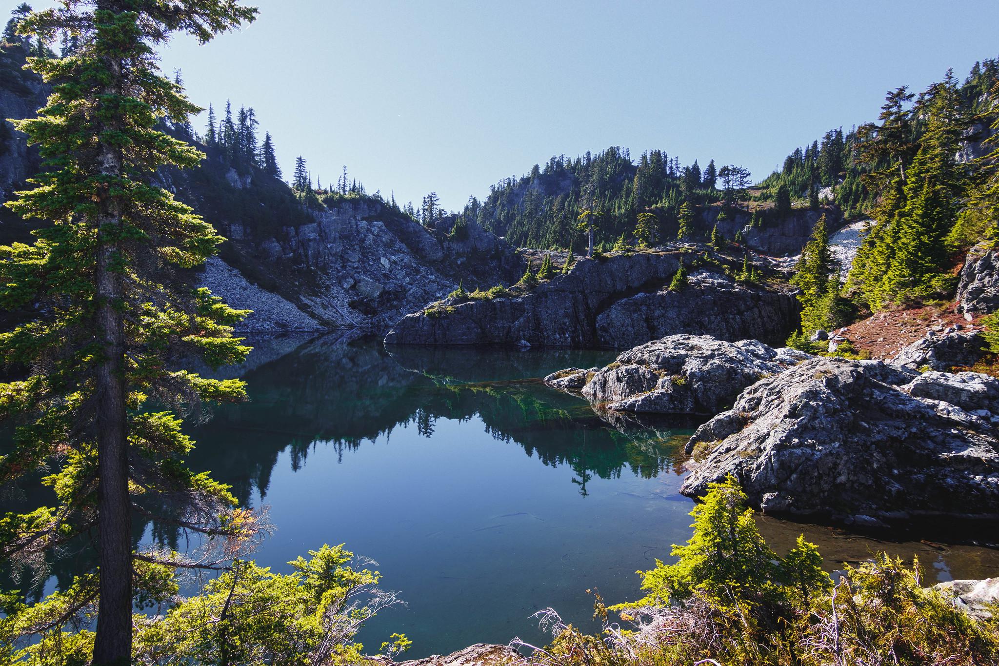 Boner Lake at last