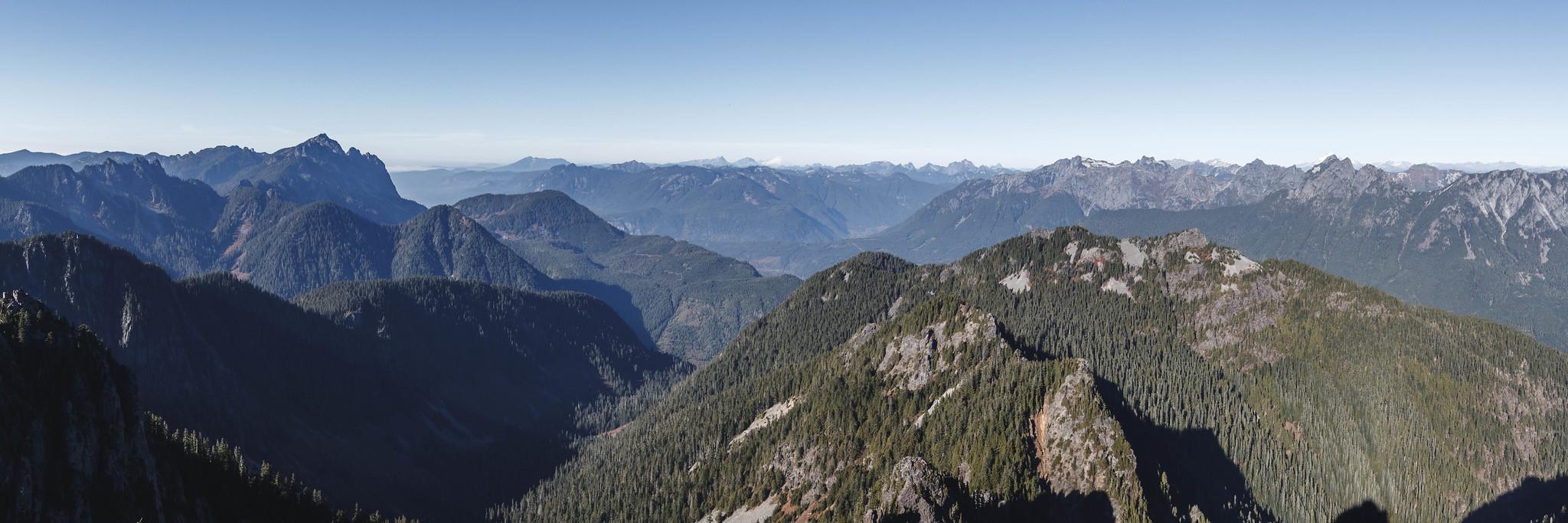 North panoramic view