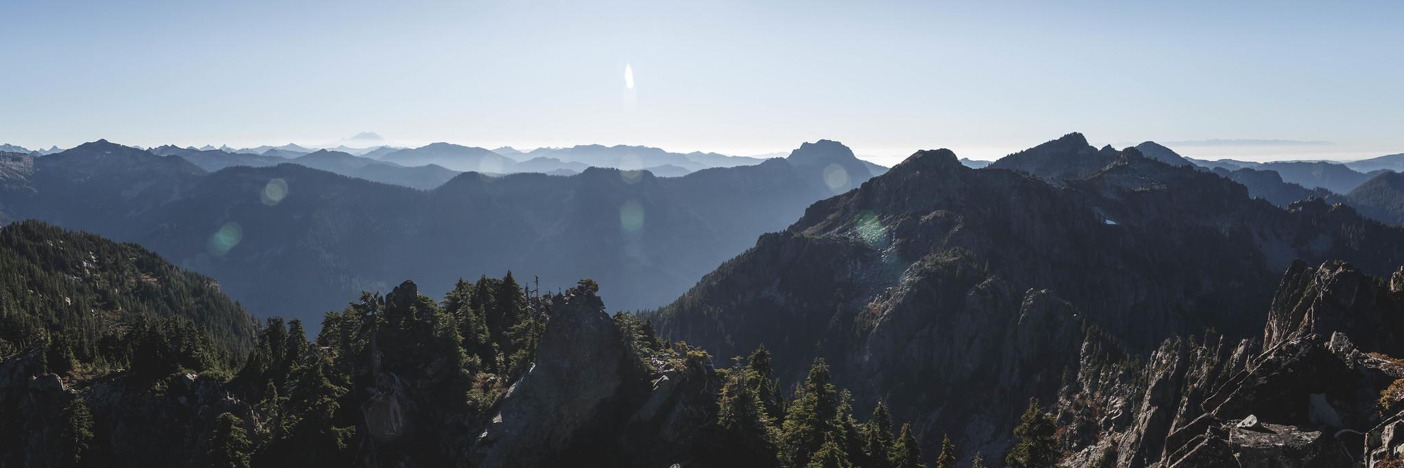 South panoramic view