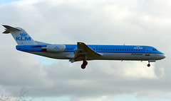 aerospace engineering, airline, aviation, airliner, airplane, vehicle, fokker 70, air travel, jet aircraft, flight,