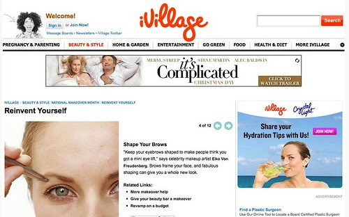 iVilliage : Beauty & Style > Shape Your Brows