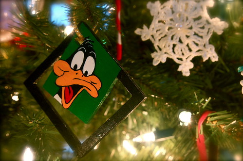 1994 Handmade Daffy Duck Ornament