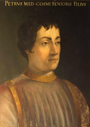 Cristofano dell'Altissimo - Ritratto di Piero il Gottoso
