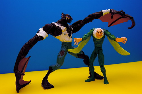 Man-Bat vs. The Vulture (5/365)