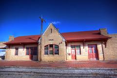 Abandoned Railroad Station (Depot)