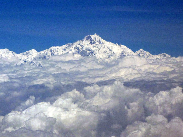 Everest from Bhutan