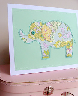 Elephant - green