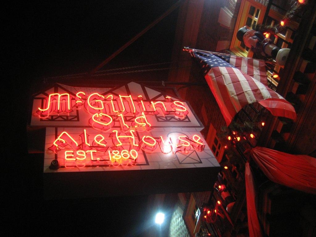 McGillan's Neon Sign