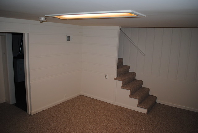 finished basement stairs flickr photo sharing