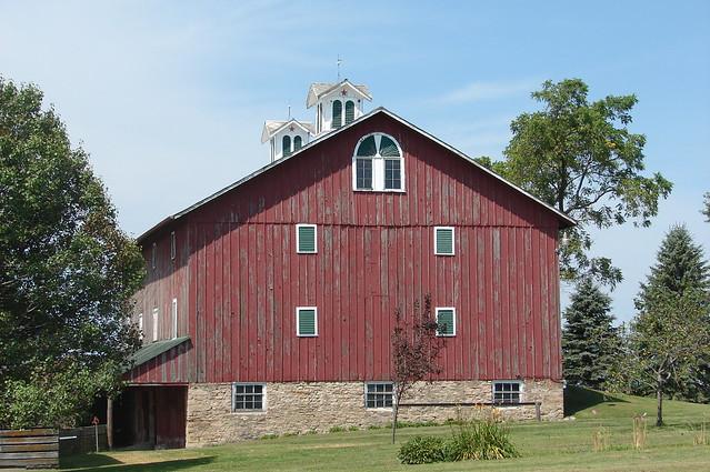 Double Cupola Barn Flickr Photo Sharing