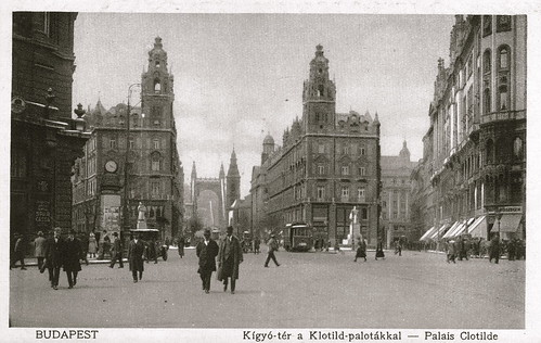 Old postcards of Budapest – Clotilde Palace