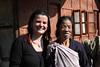 An Apatani woman and me in Hong, Arunachal Pradesh