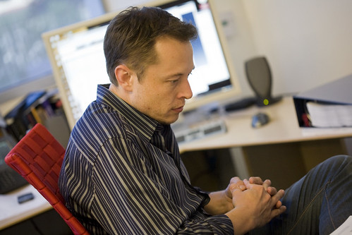 Elon Musk de Tesla