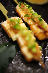 Grilled salmon belly with Ponzu Sauce - DSC_2855