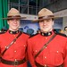 Mounties at Canada Pavillion Livecity Downtown