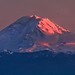 Mount Ranier February Sunset Panorama