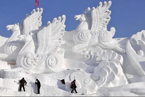 Brilliant Snow Sculpture