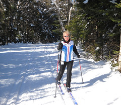 snowshoe(1.0), ski equipment(1.0), winter sport(1.0), footwear(1.0), nordic combined(1.0), winter(1.0), ski(1.0), skiing(1.0), sports(1.0), recreation(1.0), outdoor recreation(1.0), ski touring(1.0), ski mountaineering(1.0), cross-country skiing(1.0), downhill(1.0), nordic skiing(1.0),