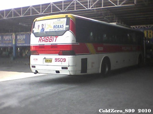 Philippine Rabbit Bus Lines 9509 Hyundai Aero