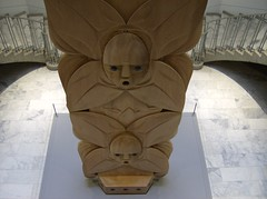 carving, art, brown, wood, sculpture, tiki,