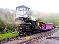 New Hampshire-5105 - Mount Washington Cog Railway