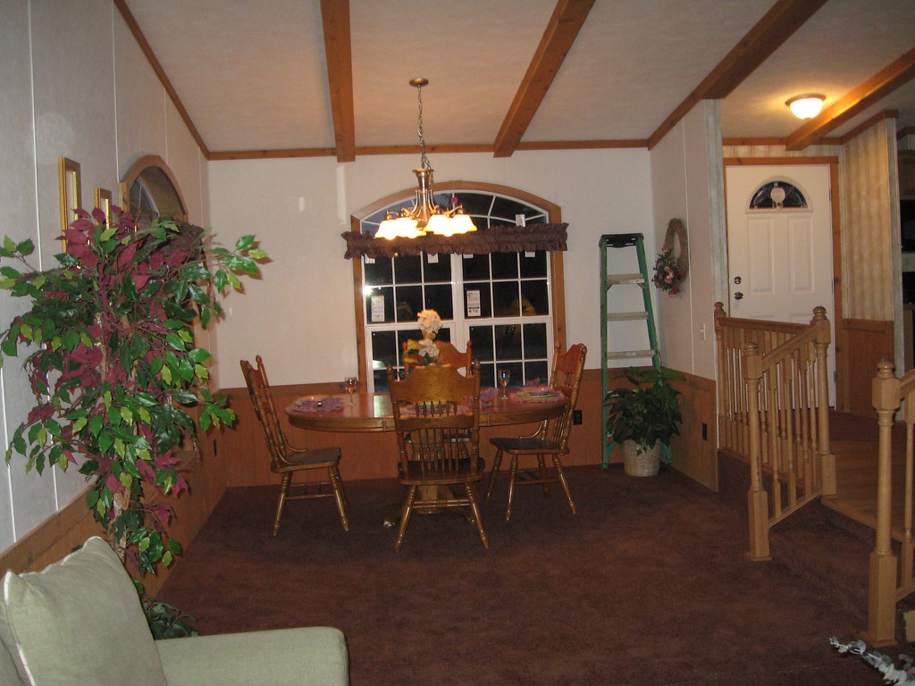 Living/Dining Room Side, Night