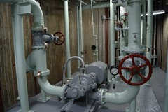 steam engine(0.0), boiler(0.0), aircraft engine(0.0), machine(1.0), room(1.0), pumping station(1.0),