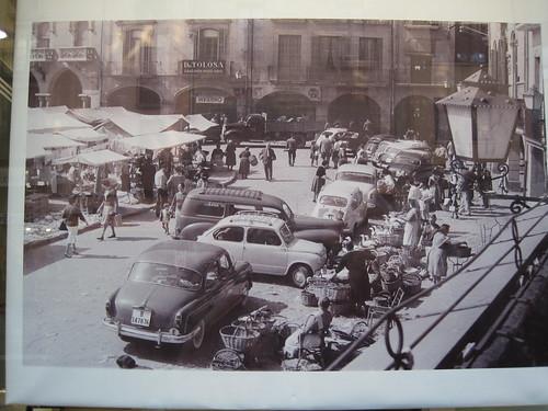Mercat del Ram de Vic als anys seixanta
