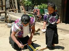 Tisseuse, Chamula, Chiapas