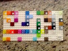 2010 LEGO Color Palette