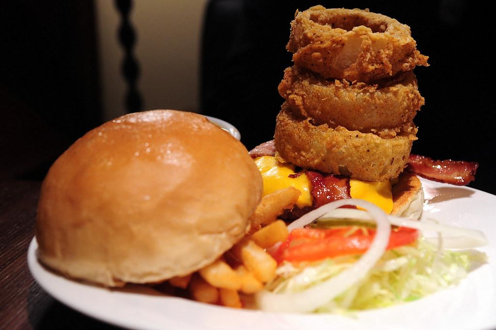 Evans Burger 漢堡