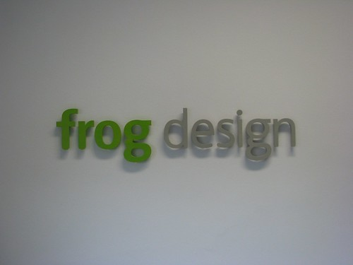 Bye bye gabetti hello frog design yellow line for Frog agency