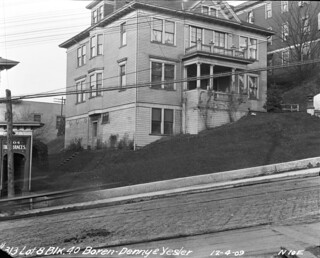 Boarding house at 5th and Yesler, 1909