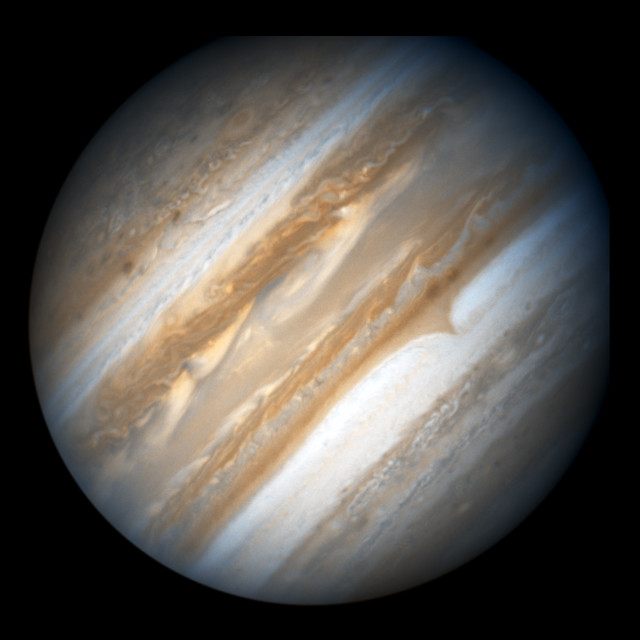 Hubble Images Jupiter in Support of the New Horizons Flyby ...