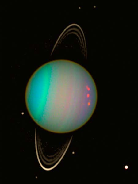 uranus planet nasa with rings - photo #41