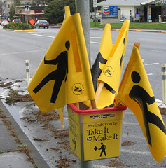 Kirkland Take it to Make it flags by Brett VA, on Flickr