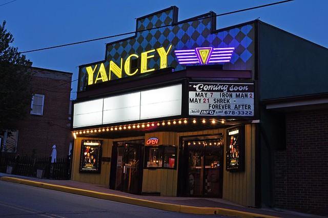 Yancey movie house burnsville nc flickr photo sharing for Burnsville theater