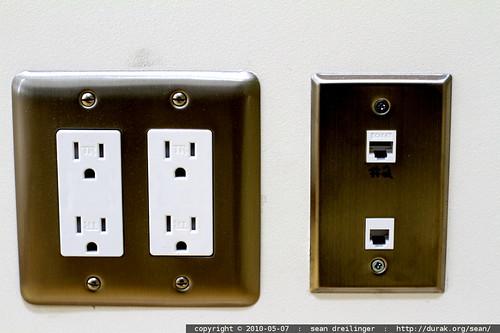 power, phone & ethernet