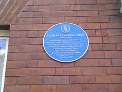 Photo of Berkeley Moynihan blue plaque