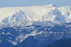 Comox Glacier in April