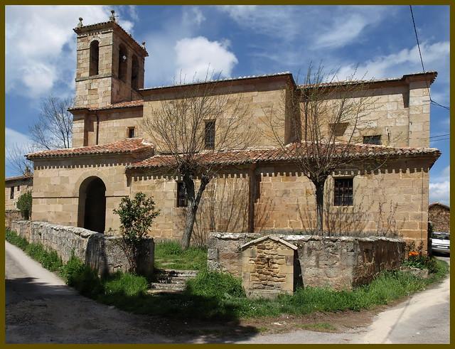 La Puente del Valle (Valderredible, Cantabria). Iglesia de San Roque y Santa María