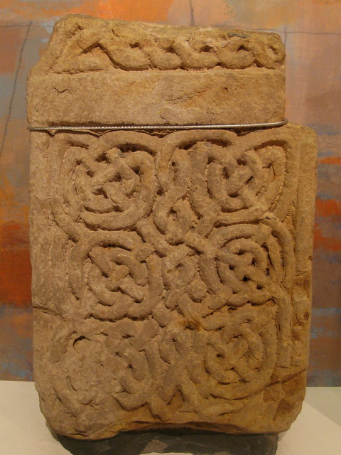 Saxon carving lindisfarne priory museum flickr photo