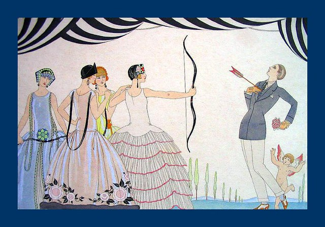 George Barbier- Aim for the heart ladies!