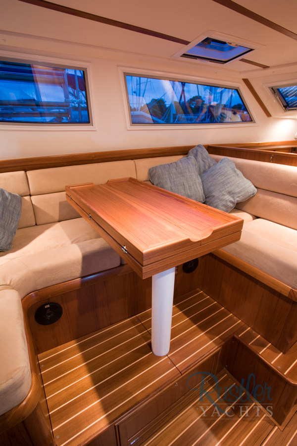 Awesome craftsmenship from Rustler Yachts