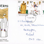 4-Aug-1976 UK First Day Cover