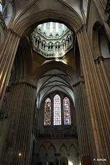 Tour lanterne de la Cathédrale Notre-Dame de Coutances - Manche - Basse Normandie
