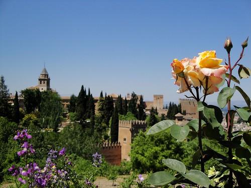 The Alhambra, Granada, Spain
