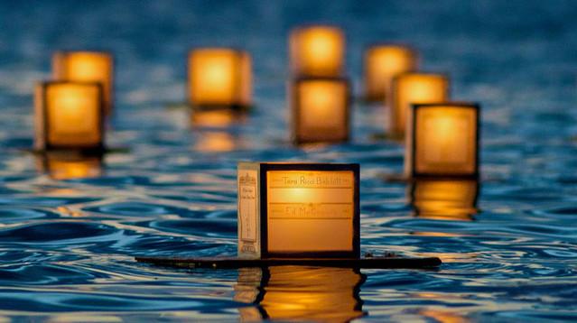 Memorial Day Lantern Floating Ceremony