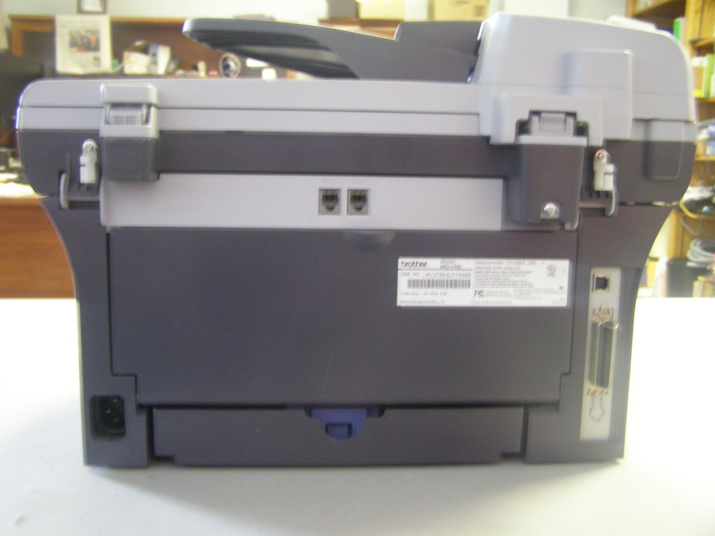 brother mfc 7420 Rear View | Used Printers For Sale As Is Fr… | Flickr